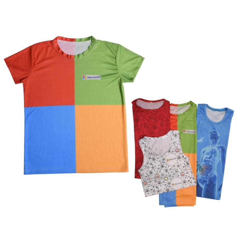 חולצות דריי פיט הדפסה מלאה