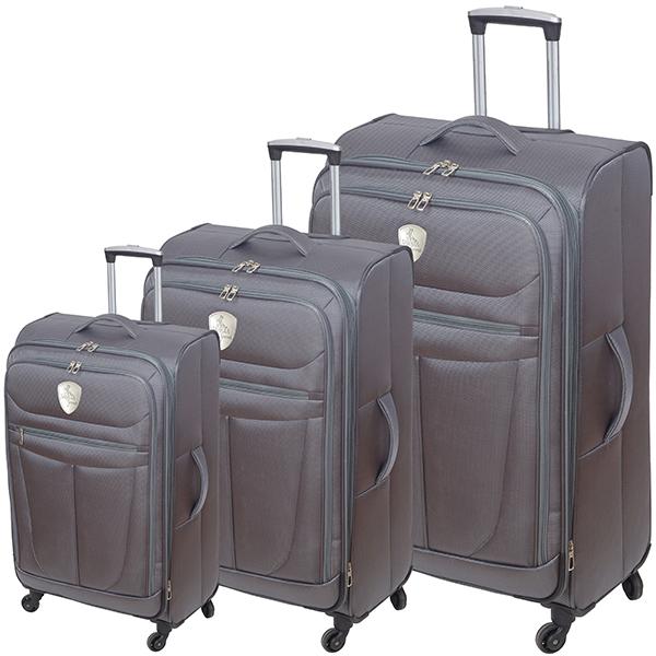 סט שלושה מזוודות טרמינל