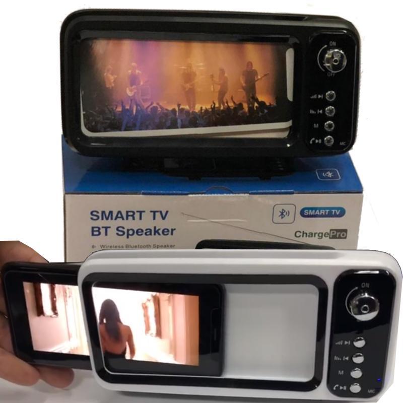 רמקול סמארט שהופך את הטלפון לטלוויזיה