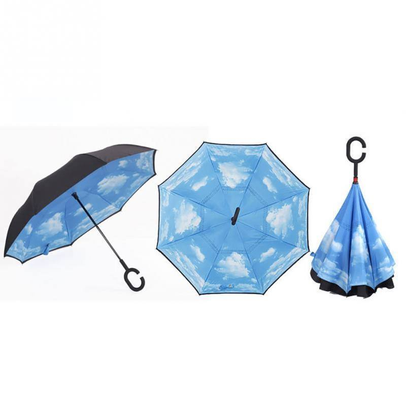 מטריה הפוכה שמיים