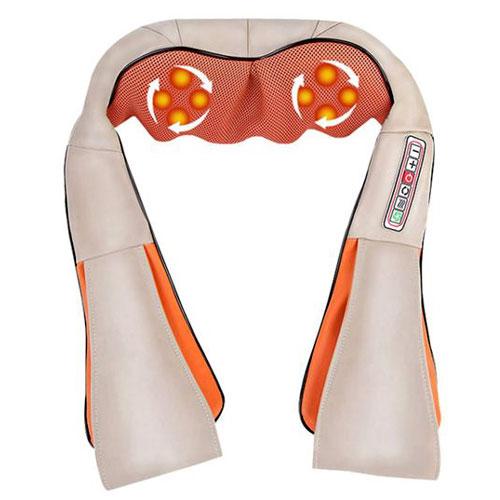 חגורת עיסוי שיאט'סו מסג' חזק הכולל גם חימום לכל מיני אזורים בגוף