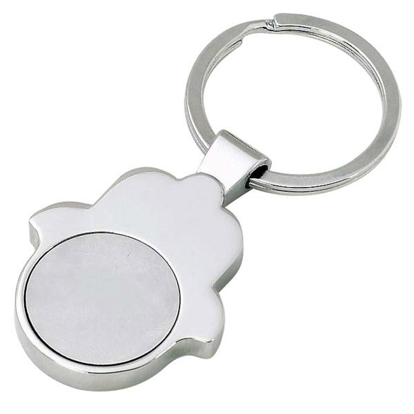 מחזיק מפתחות חמסה מטבע נשלף