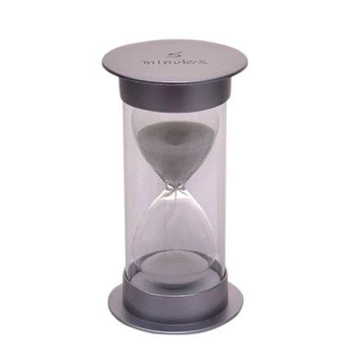 שעון חול מעוצב מפלסטיק בעל דופן כפולה