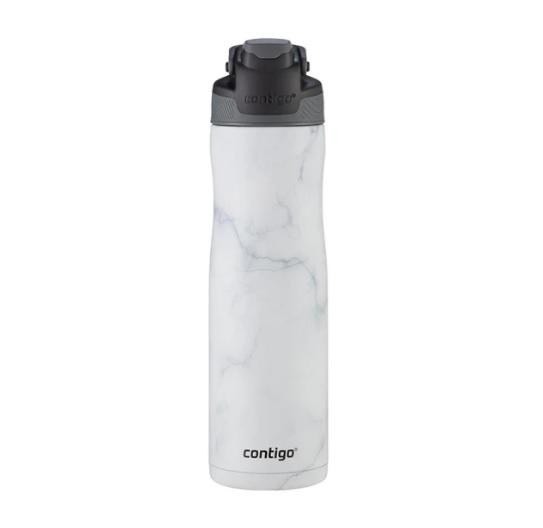בקבוק מתכת לבן