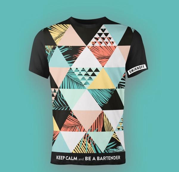 חולצה צבעוני אולאובר