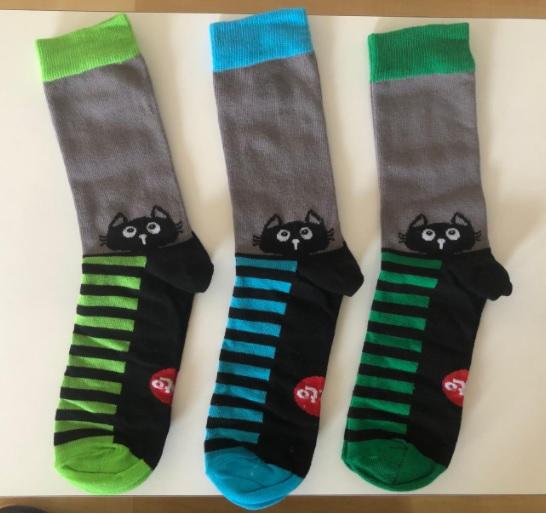 גרביים צבעוניות הפקה אישית